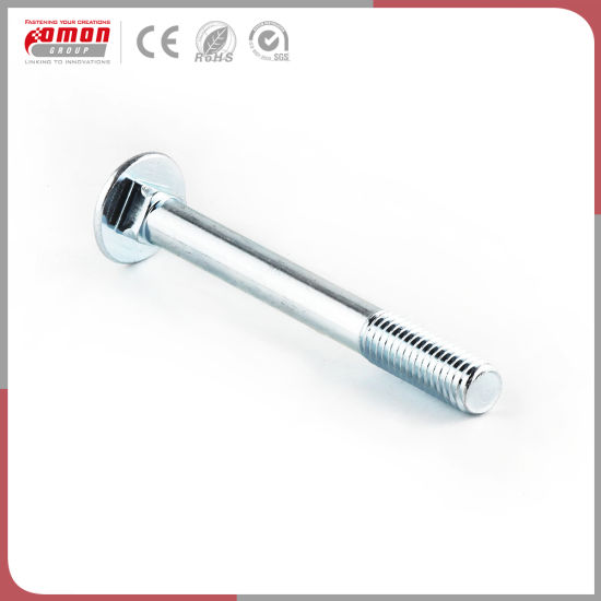 Eco-Friendly Round Pan Head Stud Nut Wheel Brass Bolt for Building pictures & photos