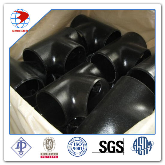 Sch160xsch80 ASTM A234 Wpb Seamless Bw Equal Tee Pipe Fittings pictures & photos