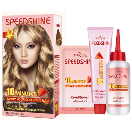 Tazol Speedshine Hair Color Cream 9.0 pictures & photos