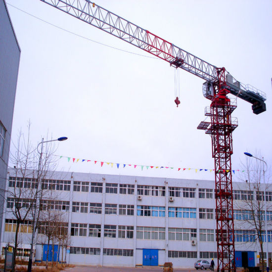 Topless 5010 Model Tower Crane with SGS pictures & photos