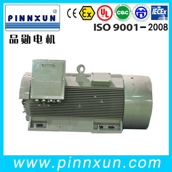Three Phase Squirrel Cage Compact Type Induction AC Motor 500kw pictures & photos
