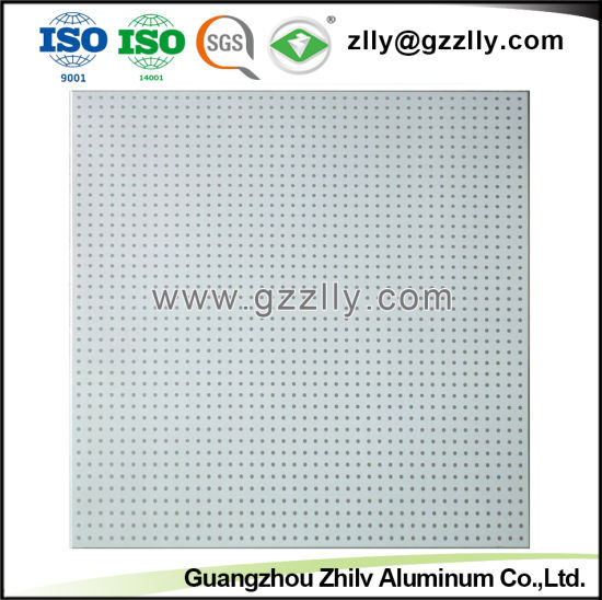 Top One Selling Perforated Plain Spray Powder Ceiling pictures & photos