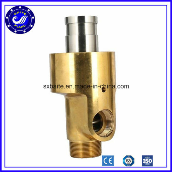 Brass Copper High Temperature Rotary Swivels Rotary Coupling Rotary Joint Union pictures & photos