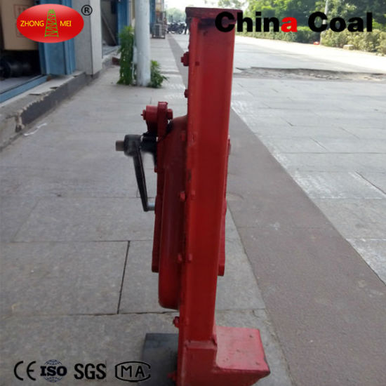 Rack Rail Jack with Safety Crane Handle or Manual Jack pictures & photos