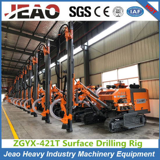 Integrated Air Compressor Drilling Rig with Pneumatic Impactor DTH Drilling Rig pictures & photos