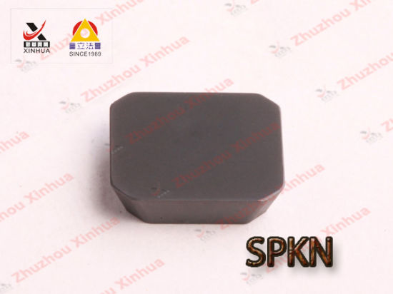 Cemented Carbide Metal Milling Inserts Spkn pictures & photos
