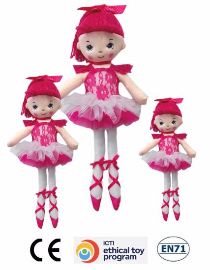 High Quality Cute Plush Toys/Beautiful Plush Rag Doll /OEM pictures & photos