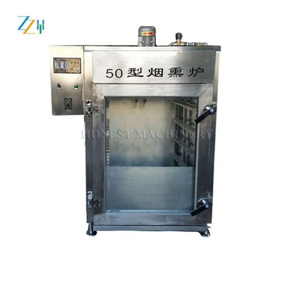 Fully Automatic Fish Smoking Machine in Food Processing Industry pictures & photos