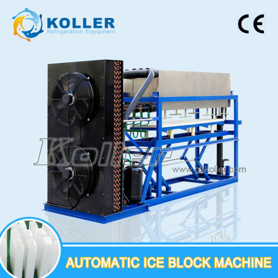 2000kg Per Day Top Quality Directly Evaporated Ice Block Machine pictures & photos