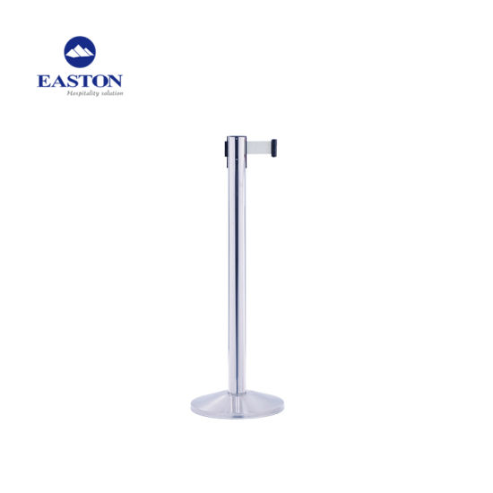 Hotel Stainless Steel Stanchion with Retractable Rope pictures & photos