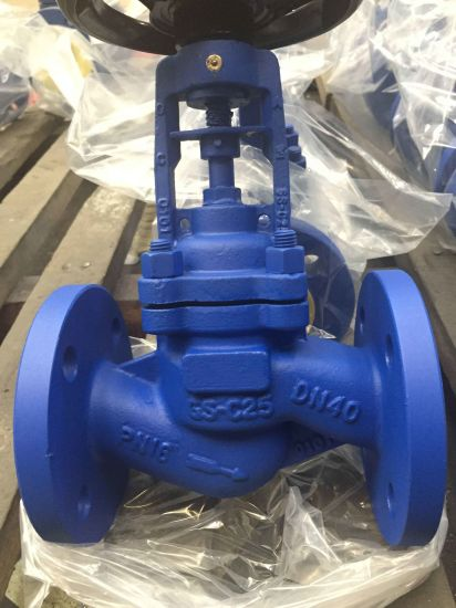 Cast Steel Flanged Pn16 Globe Valve pictures & photos