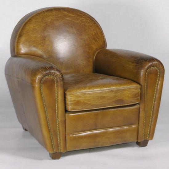 antiquefurniture_classic luxury leather hotel club arm chair antique furniture