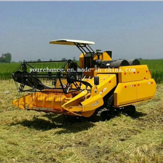 Iran Hot Selling 4lz-5.0d Double Threshing Drums Combine Harvester pictures & photos