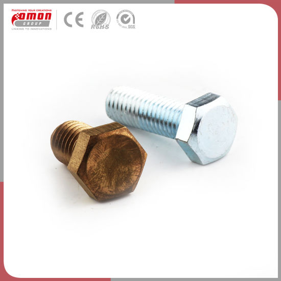 Customized Design Flange Metal Brass Screw Anchor Bolt for Building pictures & photos