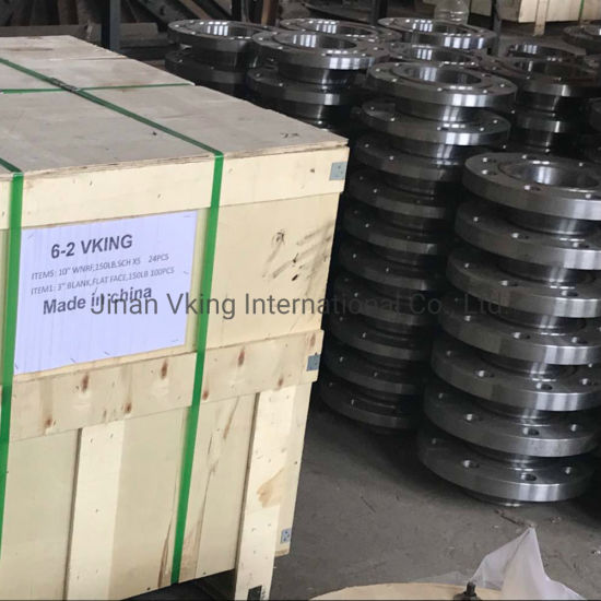 ASTM A182 316L Weld Neck Class 1500 Rtj ASTM A694-F60 CS Flange pictures & photos
