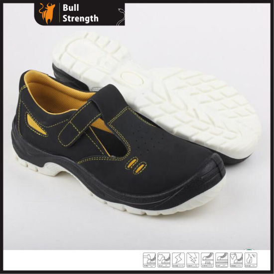 Dual Density PU Summer Safety Sandal with Nubuck Leather (SN5276) pictures & photos