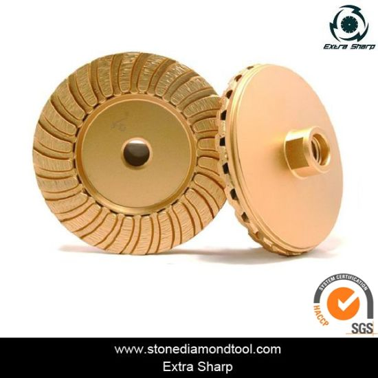 China High Quality Stone Concrete Diamond Tool Cup Grinding Wheel pictures & photos