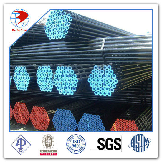 Sch40 Seamless Hot Finished Pipe St 35.8 III DIN17175 pictures & photos