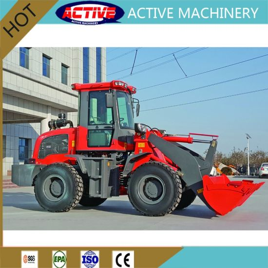 AL915 Euro 3/EPA 1.5ton Wheel Loader with High Quality and Cheap Factory Price pictures & photos