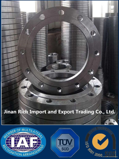 DIN Stainless Steel SS304 SS316L Lapped Flange pictures & photos