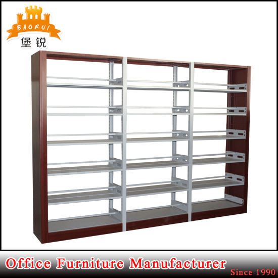Luo Yang Factory Best Price Customized Library Furniture Metal Book Shelf pictures & photos