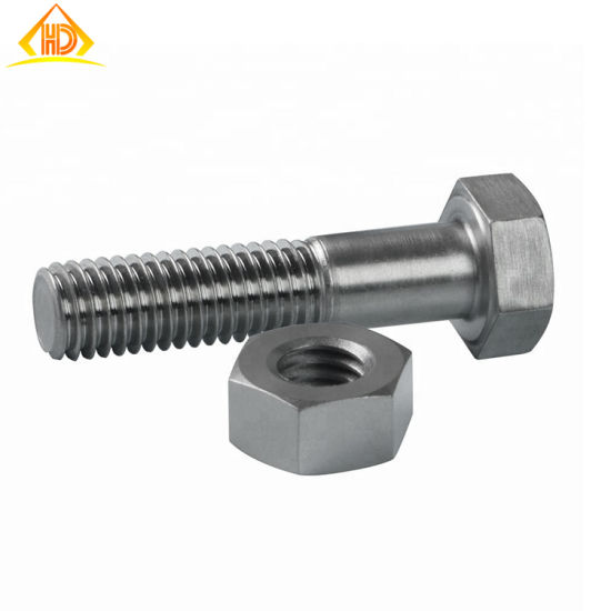 Top Quality Stainless Steel 304 316 Hex Bolts with Nuts pictures & photos
