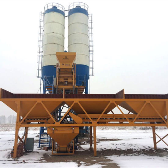 Hzs50 Ready Mixed Concrete Mixing Plant pictures & photos