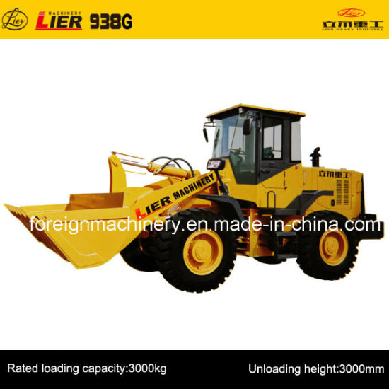 Wheel Loader for High Quality (Lier -938G) pictures & photos