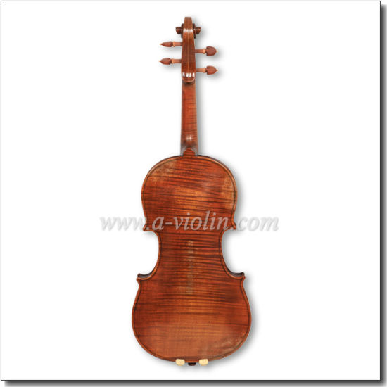 Warm Antique Oil Varnish 4/4 Advanced Conservatory Violin (VH400VA) pictures & photos