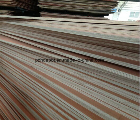 E1 Glue Low Formaldehyde Furniture Grade Plywood pictures & photos