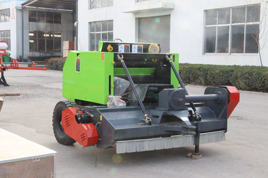 Aricultural Machinery Mini Round Baler/Straw Baler/Hay Baler/Tractor pictures & photos