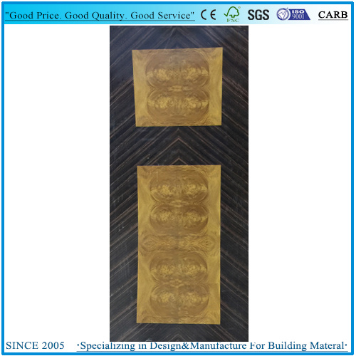 Jointed Flower Veneered Door Skin 3X7′plywood From Factory pictures & photos