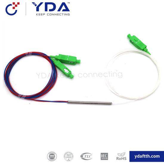 FTTH Optical Coupler Fiber Optic Coupler 1X2 Wdm Fiber Splitter Fbt Coupler pictures & photos