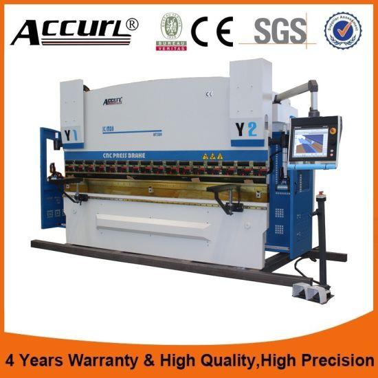 135 Ton 4200 mm Hydraulic CNC Plate Press Brake Machine pictures & photos
