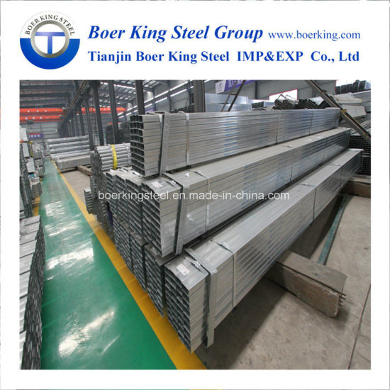 50*50mm Rectangular Steel Hollow Section Pipe pictures & photos