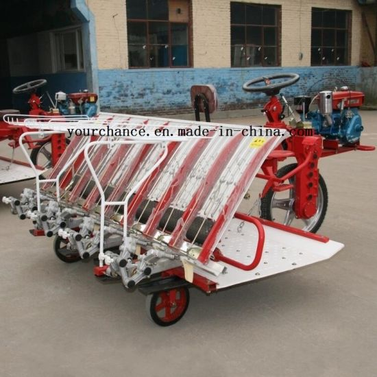 2019 Hot Selling Rice Planting Machine 2z-8238 8 Rows 238mm Rows Width Riding Type Rice Transplanter pictures & photos