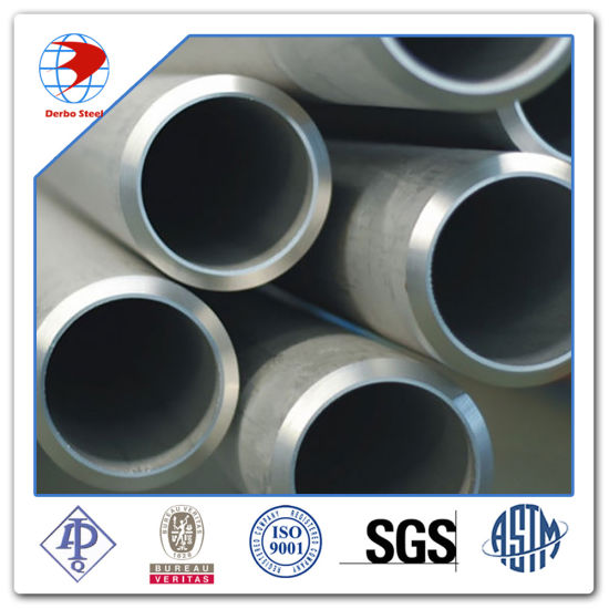 Sch80s ASTM A312 904L Seamless Steel Pipe pictures & photos