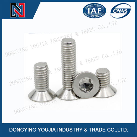 GB2673 Stainless Steel Hexalobular Socket Countersunk Head Screws pictures & photos