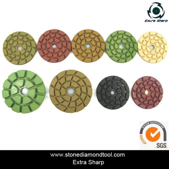 4 inch concrete polishing pads pictures & photos