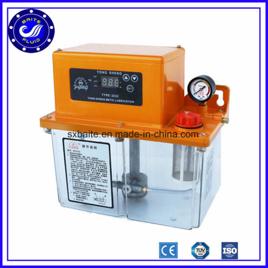 Grease 120V 60Hz Resistance Automatic Oil Lubrication Systems Electric Lubrication Oil Pump pictures & photos