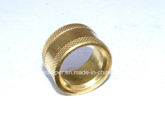 Precision Brass Knurling Fittings for Machine Parts pictures & photos