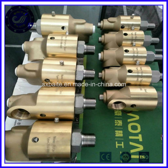 Customized CNC Machining NPT Male Female Adapter Rotary Joint Steel Swivel Joint pictures & photos