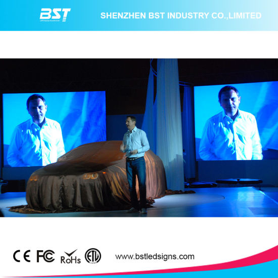 P4.8 Full Color Indoor Rental LED Screen for Event pictures & photos