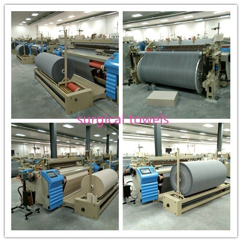 Shuttleless Air Jet Textile Weaving Machine for Surgical Towel pictures & photos