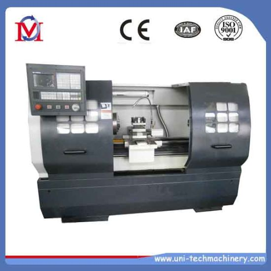 Ck6140d China Supplier Flat Bed CNC Lathe Machine Price pictures & photos