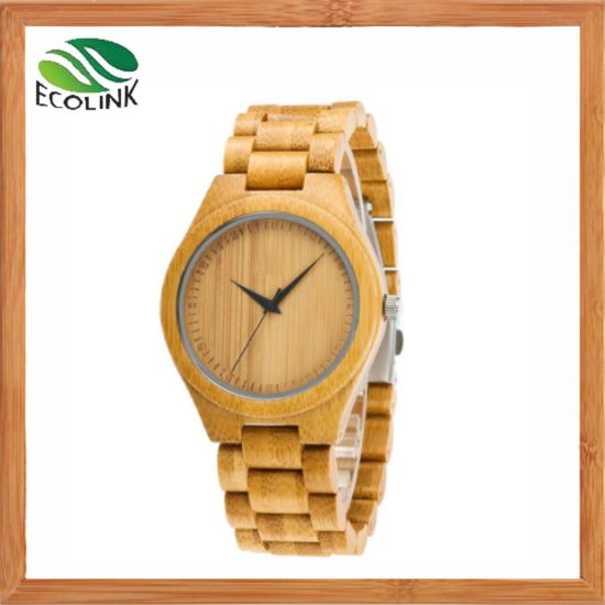Wholesale Fashion Original Bamboo Watch for Women/Men pictures & photos