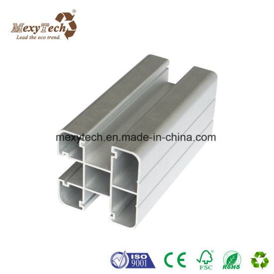 New Design Aluminum Post Garden Pravicy WPC Fence with Fencing System pictures & photos