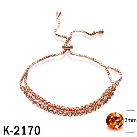 Trendy Jewelry 925 Sterling Silver Diamond Bracelet for Women pictures & photos