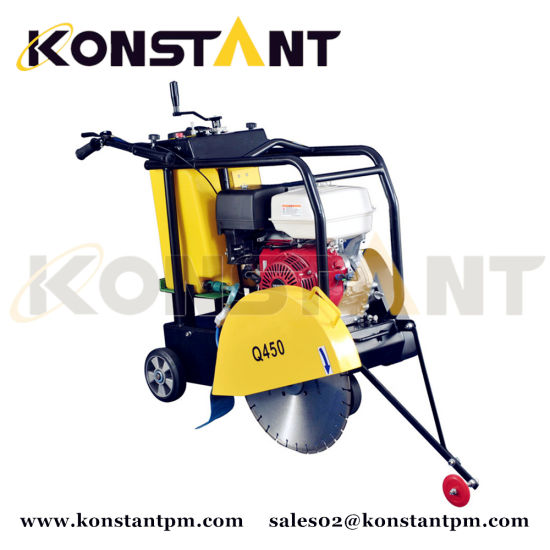 Gasoline Diesel Engine Powered Floor Saw Machine for Concrete or Asphalt pictures & photos