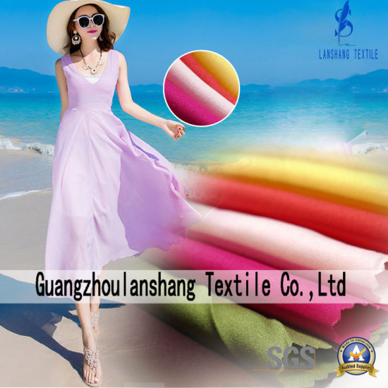 100%Polyester Habijabi Fabric for Dress Shirt Scarf pictures & photos